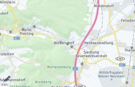 Stadtplan Wöllersdorf-Steinabrückl