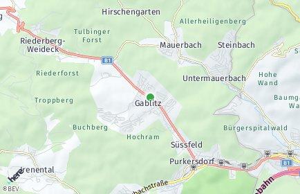 Stadtplan Gablitz
