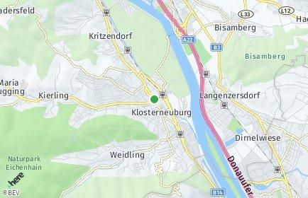 Stadtplan Klosterneuburg OT Weidlingbach