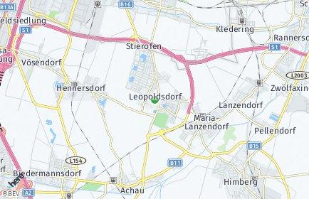 Stadtplan Leopoldsdorf
