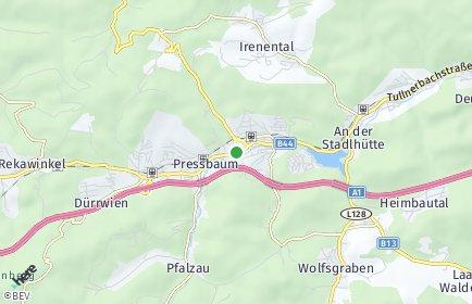 Stadtplan Tullnerbach