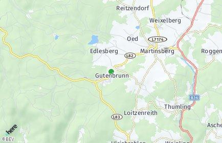Stadtplan Gutenbrunn