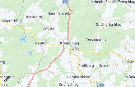 Stadtplan Ottenschlag (Niederösterreich)