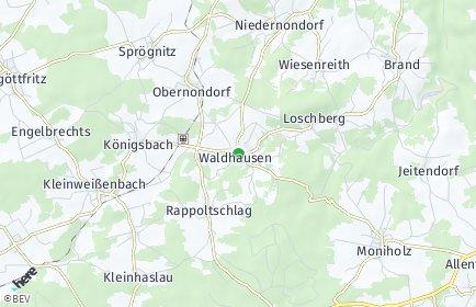 Stadtplan Waldhausen (Niederösterreich)
