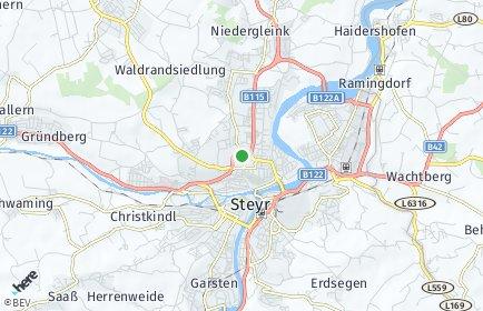 Stadtplan Steyr