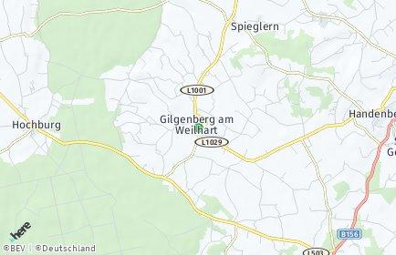Stadtplan Gilgenberg am Weilhart