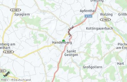 Stadtplan Handenberg