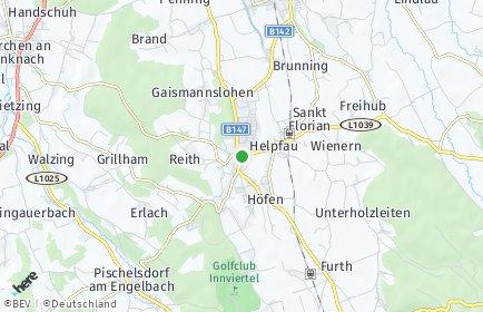 Stadtplan Helpfau-Uttendorf