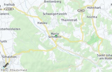 Stadtplan Maria Schmolln