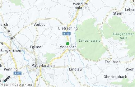 Stadtplan Moosbach