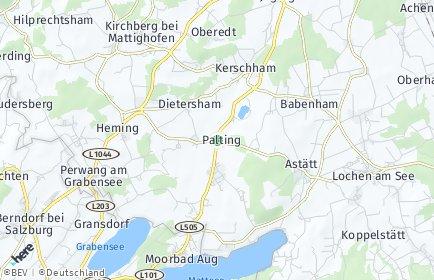 Stadtplan Palting