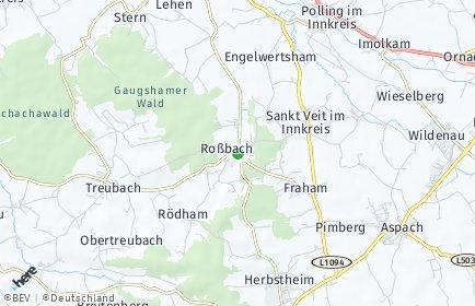 Stadtplan Roßbach