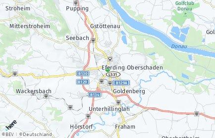 Stadtplan Eferding