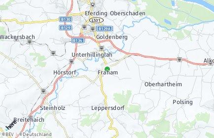 Stadtplan Fraham