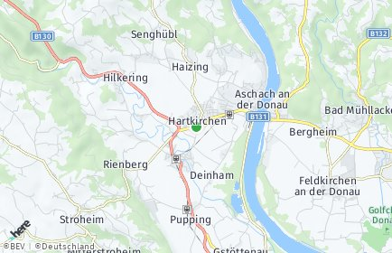 Stadtplan Hartkirchen