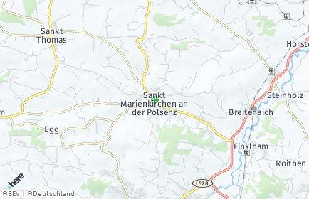 Stadtplan Sankt Marienkirchen an der Polsenz