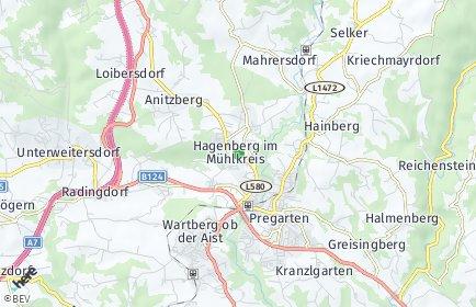 Stadtplan Hagenberg im Mühlkreis
