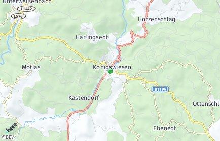 Stadtplan Königswiesen