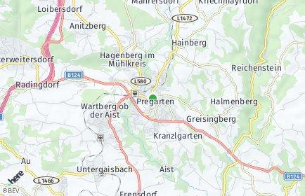 Stadtplan Pregarten