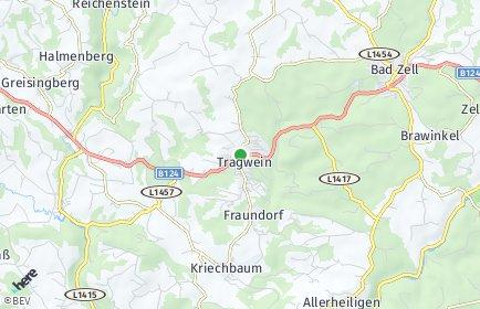 Stadtplan Tragwein