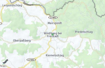 Stadtplan Windhaag bei Freistadt