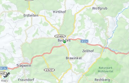 Stadtplan Bad Zell
