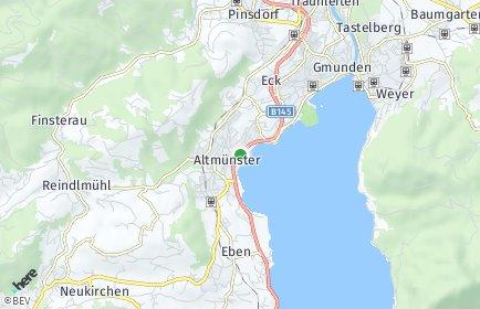 Stadtplan Altmünster OT Nachdemsee