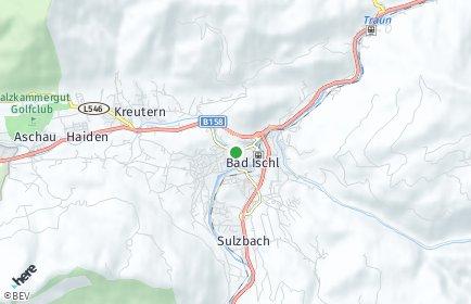 Stadtplan Bad Ischl OT Lindau