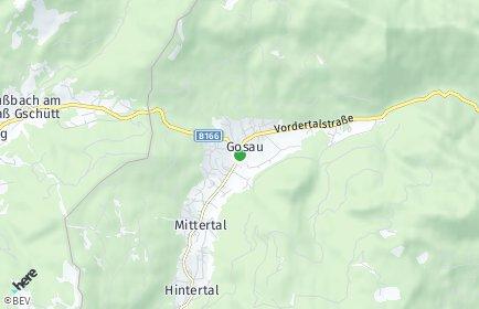 Stadtplan Gosau