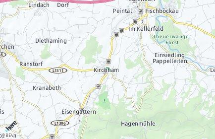 Stadtplan Kirchham