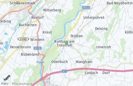 Stadtplan Roitham