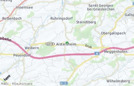 Stadtplan Aistersheim
