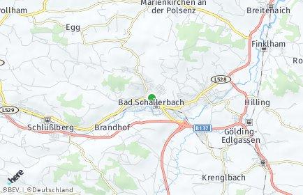Stadtplan Bad Schallerbach