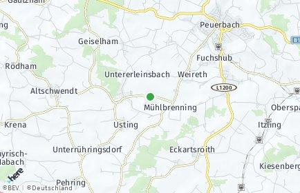 Stadtplan Bruck-Waasen