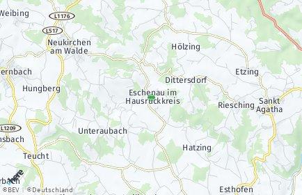 Stadtplan Eschenau im Hausruckkreis