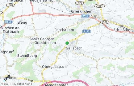 Stadtplan Gallspach