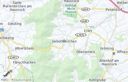 Stadtplan Geboltskirchen