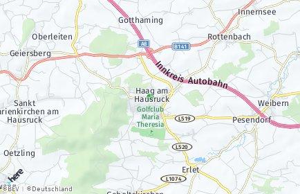 Stadtplan Haag am Hausruck