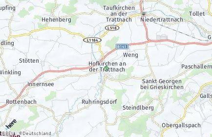 Stadtplan Hofkirchen an der Trattnach