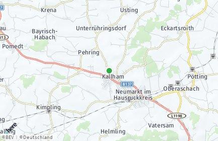 Stadtplan Kallham