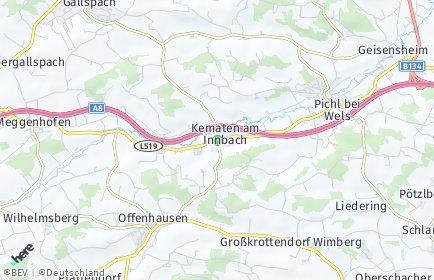 Stadtplan Kematen am Innbach OT Breitwies