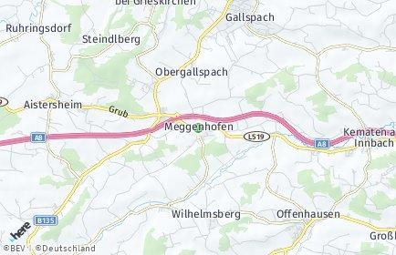 Stadtplan Meggenhofen