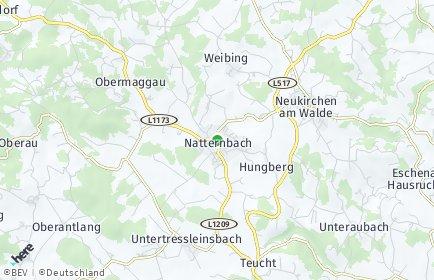 Stadtplan Natternbach