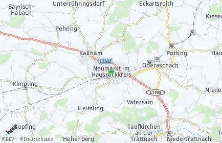 Stadtplan Neumarkt im Hausruckkreis OT Neumarkt im Hausruckkreis