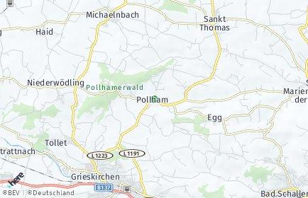 Stadtplan Pollham