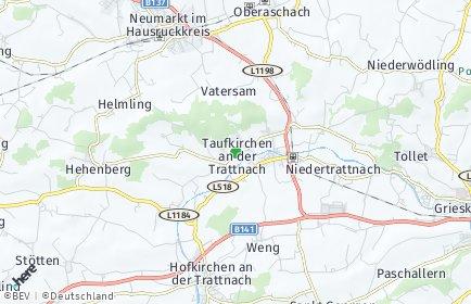 Stadtplan Taufkirchen an der Trattnach