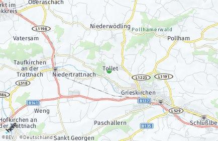 Stadtplan Tollet OT Stein