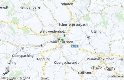 Stadtplan Waizenkirchen