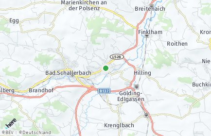 Stadtplan Wallern an der Trattnach