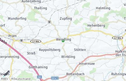 Stadtplan Wendling